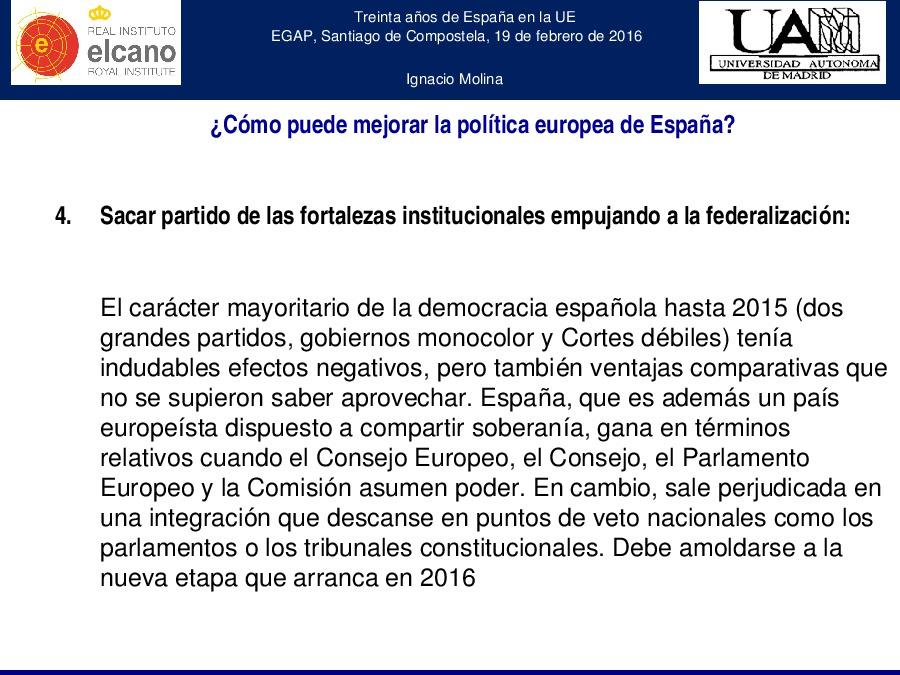 30 años de España en la UE